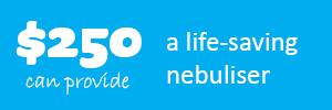 $250 life saving nebuliser