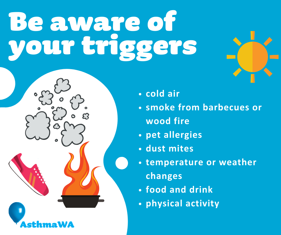 Be aware of your triggers - Holiday checklist