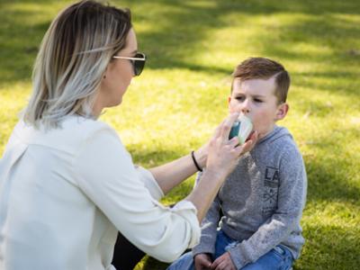 Asthma hospital presentations drop